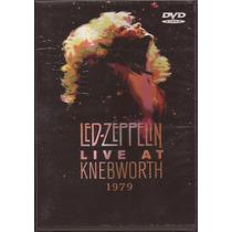 Led Zeppelin Dvd Live At Knebworth Importado 79 Novo Lacrado