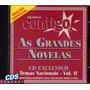 Cd Temas Nacionais De Novelas E Minisséries Vol.2