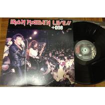 Disco Vinil Lp Iron Maiden Live + One Frete Grátis Japan