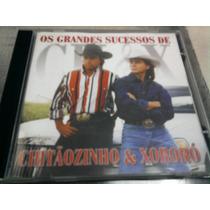 Cd Grandes Sucessos De Chitãozinho & Xororó Duplo 1999 Raro
