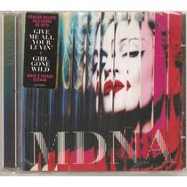 Cd Madonna - Mdna ( Duplo Lacrado) Universal 2012