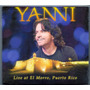 Cd + Dvd Yanni - Live At El Morro, Puerto Rico - Novo***