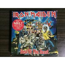 Iron Maiden Best Of The Beast (2 Cd) Importado E Com Livro