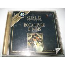 Cd Boca Livre E 14bis-gold Ao Vivo Special Edition Universal