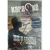 Karaoke Zeze Di Camargo E Luciano Coletânea Karaokê Dvd