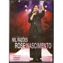 Dvd Rose Nascimento - Mil Razões * Original