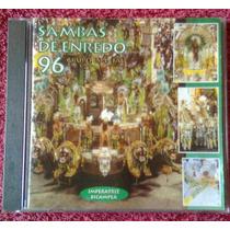 Cd Sambas De Enredo - Carnaval 96 - Rio De Janeiro