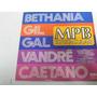 Lp Bethania Gil Gal Vandré Caetano Mpb Espetacular