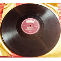 741 Mdv- Lp Disco 78 Rpm- Dec 50- The King Cole Trio- Nat