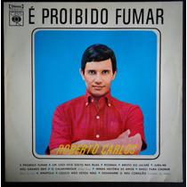 Roberto Carlos Lp Nacional Usado É Proibido Fumar 1964