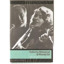 Dvd Roberto Menescal E Wanda Sá - Programa Ensaio 1991- Novo
