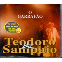 Teodoro E Sampaio Cd Single O Garrafão - Raro