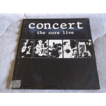 Lp Concert / The Cure Live / Ano 1985