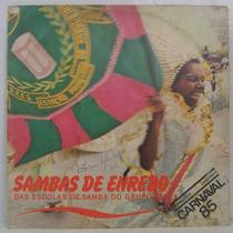 Lp Sambas De Enredo 85 - Grupo 1a - Top Tape