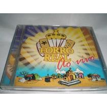 Cd- Forró Real Ao Vivo - Original - Frete Gratis