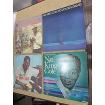Lote 4 Discos Vinil - Nat King Cole Frete Grátis Todo Brasil
