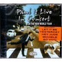 Paul Mccartney Live In Concert The New World Tour Cd Lacrado