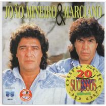 Cd João Mineiro & Marciano = Seleção De Ouro - 20 Sucessos