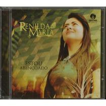 Cd Renilda Maria - Estou Abençoado [bônus Playback]