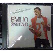 Cd Emilio Santiago - Brasileiríssimas - Raro Semi Novo