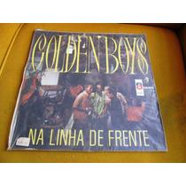Lp Golden Boys Na Linha De Frente Odeon 1968 Jovem Guarda