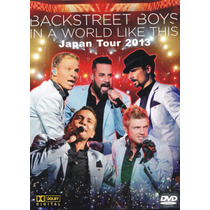 Dvd Backstreet Boys In A World Like This Japan Tour Duplo Aq