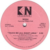 Fonda Rae - Touch Me (all Night Long) 12 Us 1984