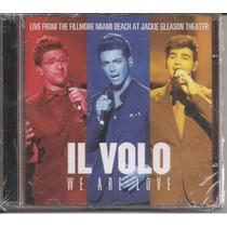 Cd - Il Volo - We Are Love - Live Fillmore - Lacrado