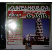 Cd Original O Melhor Da Música Romântica Da Itália