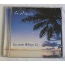 Cd - Di Augusto - Relaxamento Meditação - Volume 2