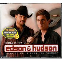 Edson E Hudson Cd Single Porta-retrato - Raro