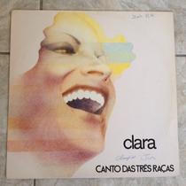 Lp Clara Nunes - Cantando Três Raças - 1976 - Ótimo Estado