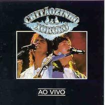 Cd Chitãozinho & Xororó Ao Vivo (1992) Lacrado Original Raro