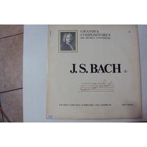 Disco De Vinil Lp Grandes Compositores Da Musica...j.s Bach