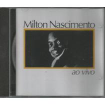 Cd Milton Nascimento - Ao Vivo - 1983 - Edição De 1997
