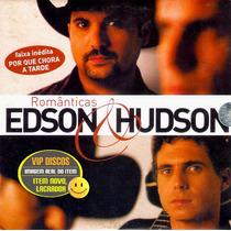 Edson E Hudson Cd Românticas Promocional - Raro