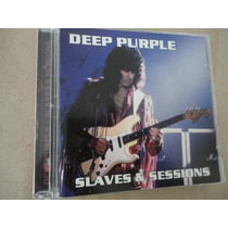Deep Purple Cd Slaves & Sessions 90/91 Duplo Joe Lynn Turner