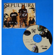 Sepultura - Choke - Cd Single - Brasil - 1998