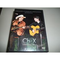 Dvd - Chitãozinho E Xororó - Classicos Sertanejos Acustico