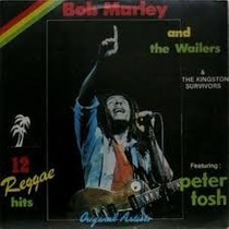 Lp Disco Bob Marley And The Wailers 12 Reggae Hits Frete Gra