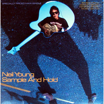 12 Single - Neil Young - Sample And Hold (importado) Devo