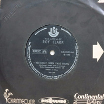Roy Clark Yesterday, When I Was Young Compacto Vinil Raro