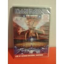 Iron Maiden - En Vivo! - Dvd Duplo Novo Lacrado