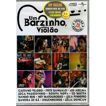Dvd Um Barzinho Um Violão Edição Especial 20 Artistas - Novo