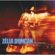 Cd Lacrado Zelia Duncan Sortimento Vivo 2002