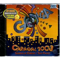 Cd Sambas Enredo Carnaval 2003 São Paulo - Novo Lacrado!