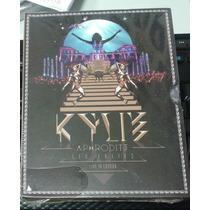 Dvd + Cds Box Aphrodite Kylie Minogue Les Folies Live London