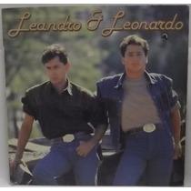 Lp Sertanejo: Leandro & Leonardo Cadê Você 1990 Frete Grátis