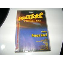 Cdvd O Karaoke Total Tributo A Roupa Nova Multioke
