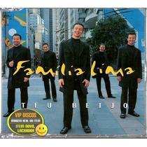 Família Lima Cd Single Promo Teu Beijo - Raro